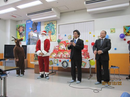 マツダ労組クリスマスプレゼント