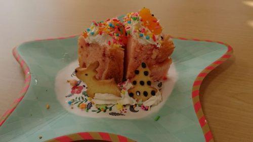 ダイアリーR2,12月写真ケーキ
