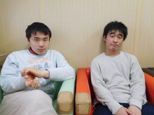 写真①二人の写真
